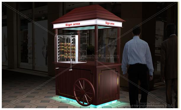 Designer Senthil | Retail / Marketing Kiosk Design Gallery in Dubai